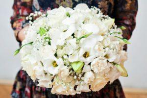 Květinová výzdoba / aranžmá - Bílé květiny - event květiny